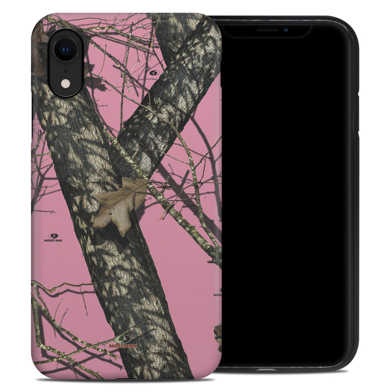 iPhone XR Hybrid Case design of Tree, Branch, Plant, Wildlife, Woody plant, Tail, Adaptation, Squirrel, Trunk, Plant stem with pink, black, gray, green, red, purple colors