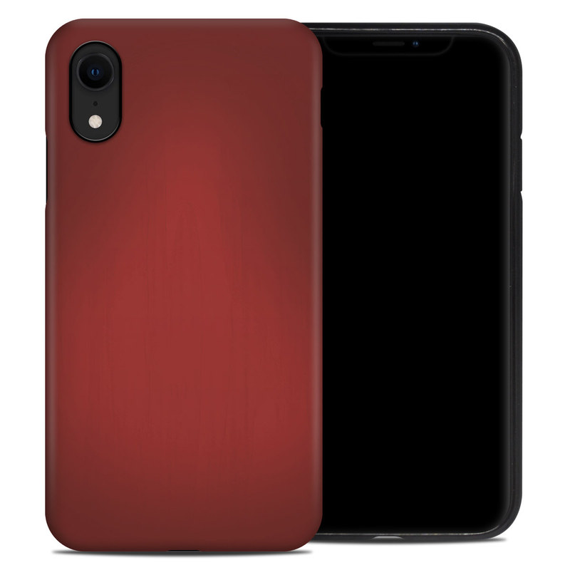 iPhone XR Hybrid Case design of Red, Maroon, Orange, Brown, Peach, Pattern, Magenta with red colors