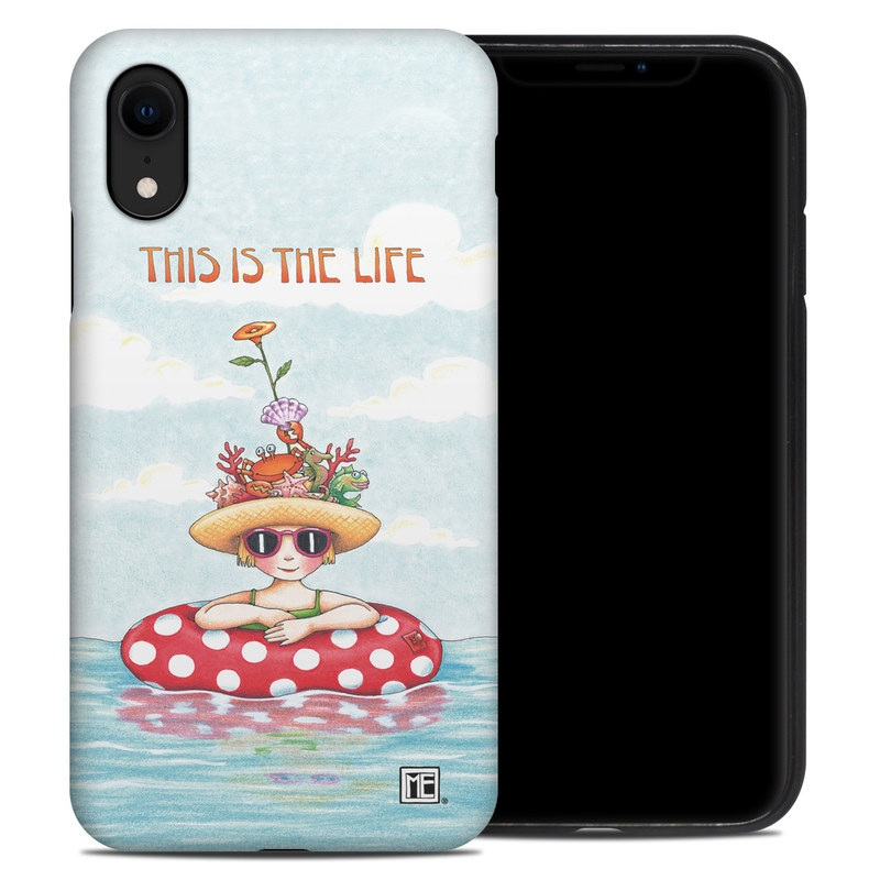 iPhone XR Hybrid Case design of Cartoon, Illustration, Clip art with blue, red, white, yellow, green, orange, pink colors