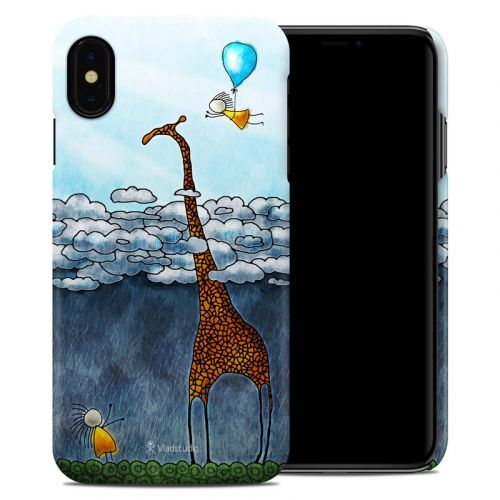 Above The Clouds iPhone XS Max Clip Case