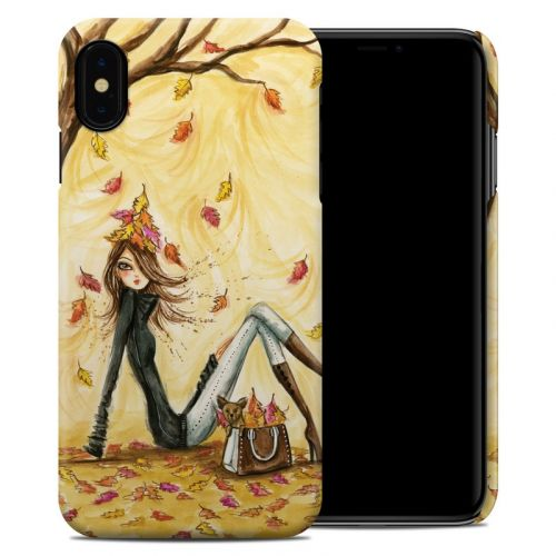 Autumn Leaves iPhone XS Max Clip Case