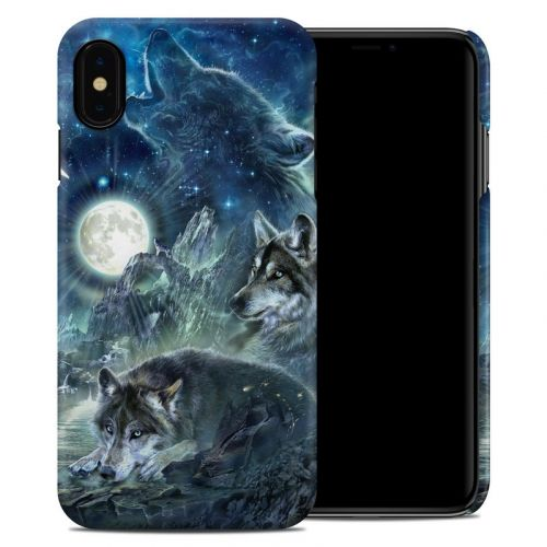 Bark At The Moon iPhone XS Max Clip Case