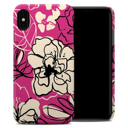 Black Lily iPhone XS Max Clip Case