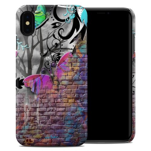 Butterfly Wall iPhone XS Max Clip Case