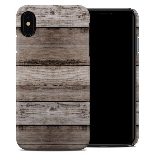 Barn Wood iPhone XS Max Clip Case