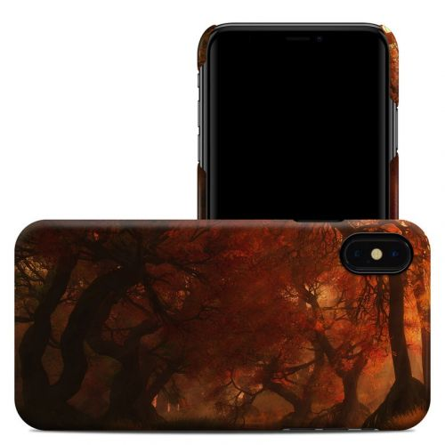 Canopy Creek Autumn iPhone XS Max Clip Case