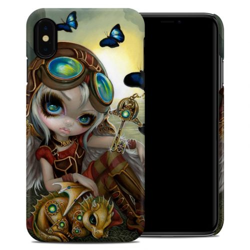 Clockwork Dragonling iPhone XS Max Clip Case