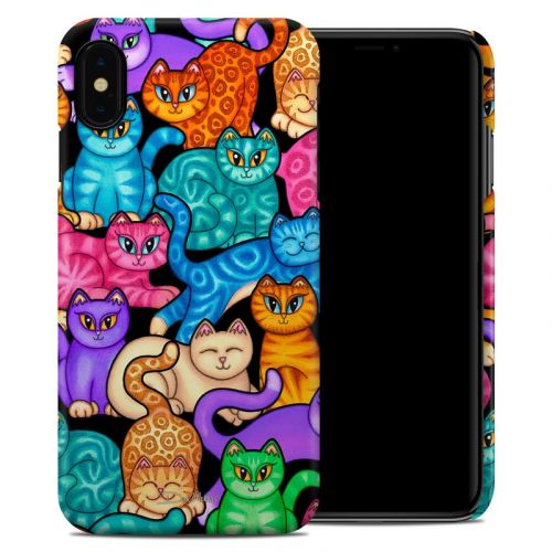 Colorful Kittens iPhone XS Max Clip Case
