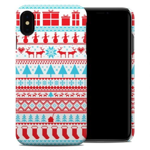 Comfy Christmas iPhone XS Max Clip Case