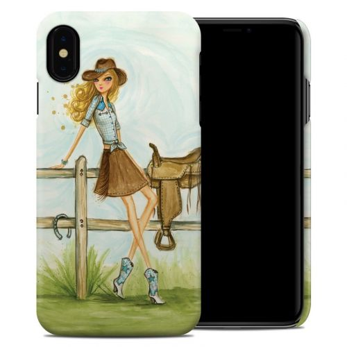 Cowgirl Glam iPhone XS Max Clip Case