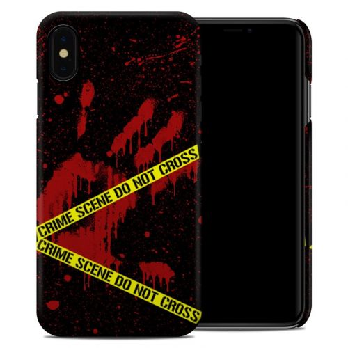 Crime Scene iPhone XS Max Clip Case