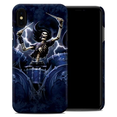 Death Drummer iPhone XS Max Clip Case
