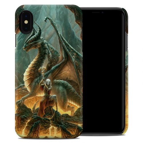 Dragon Mage iPhone XS Max Clip Case