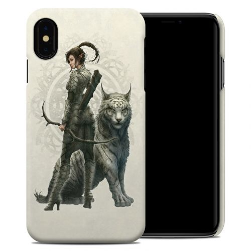Half Elf Girl iPhone XS Max Clip Case