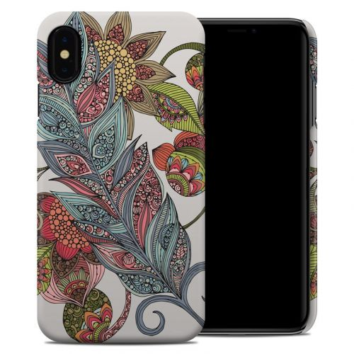 Feather Flower iPhone XS Max Clip Case