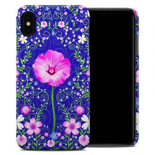 Floral Harmony iPhone XS Max Clip Case