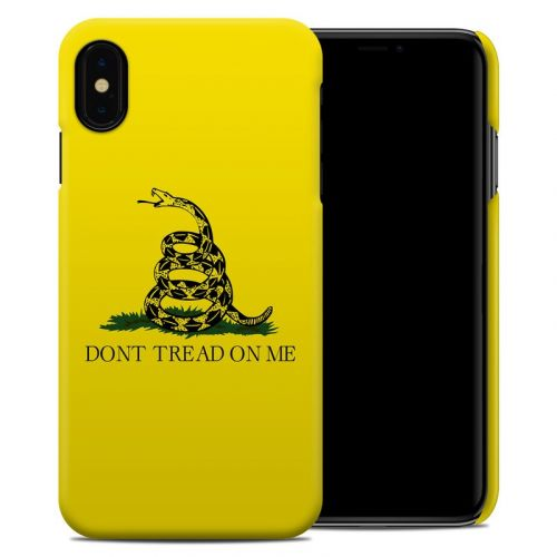 Gadsden Flag iPhone XS Max Clip Case