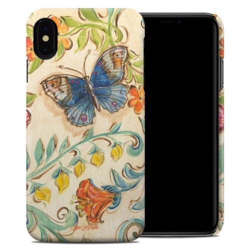 Garden Scroll iPhone XS Max Clip Case