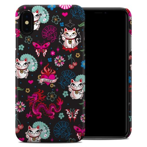 Geisha Kitty iPhone XS Max Clip Case