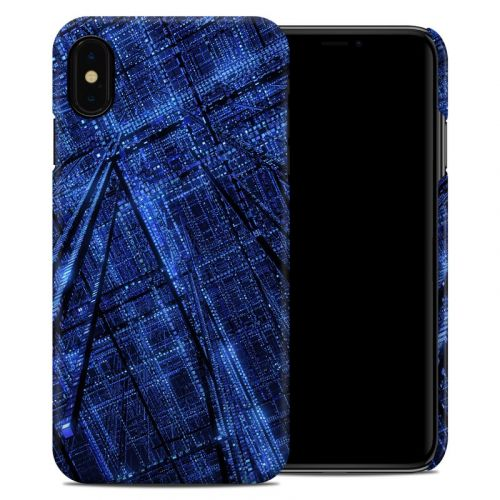 Grid iPhone XS Max Clip Case