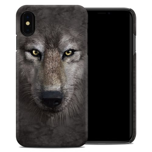 Grey Wolf iPhone XS Max Clip Case