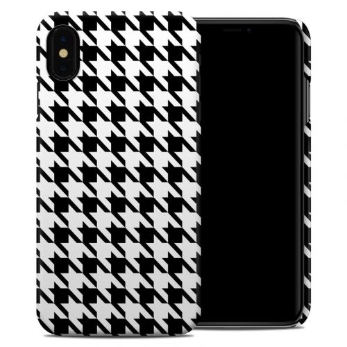 Houndstooth iPhone XS Max Clip Case