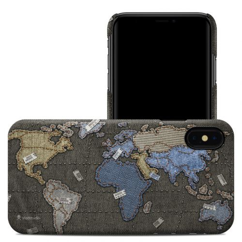 Jean Map iPhone XS Max Clip Case