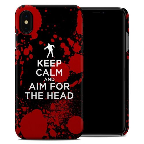 Zombie iPhone XS Max Clip Case