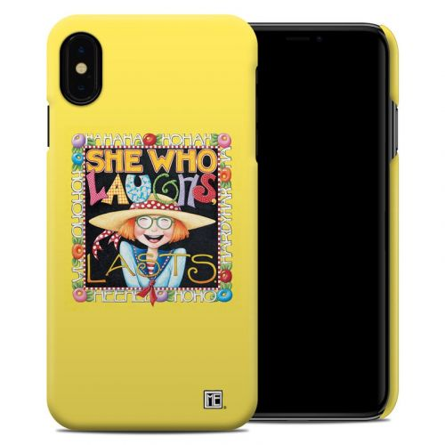 She Who Laughs iPhone XS Max Clip Case