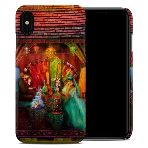 A Mad Tea Party iPhone XS Max Clip Case