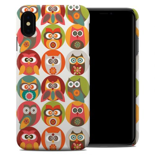 Owls Family iPhone XS Max Clip Case