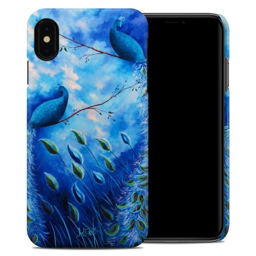 Paradise Peacocks iPhone XS Max Clip Case