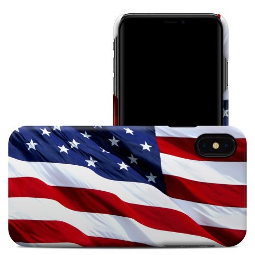 Patriotic iPhone XS Max Clip Case