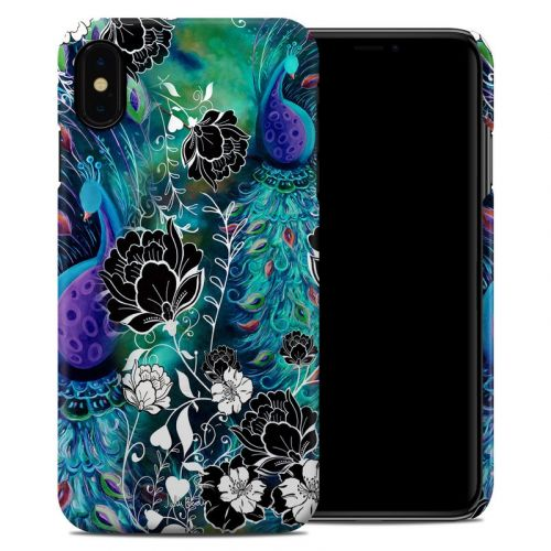 Peacock Garden iPhone XS Max Clip Case