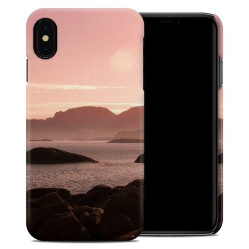 Pink Sea iPhone XS Max Clip Case