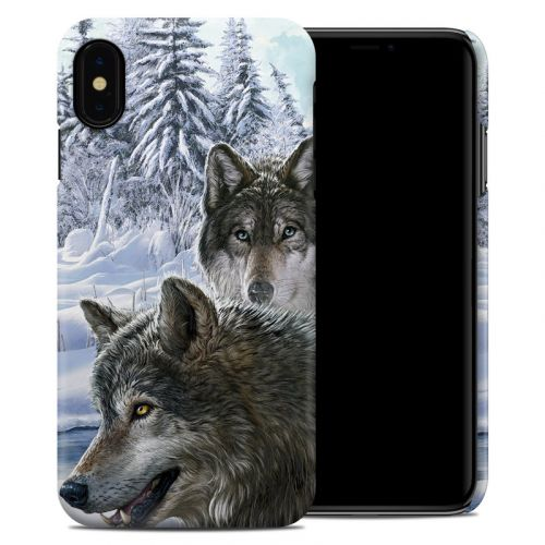 Snow Wolves iPhone XS Max Clip Case