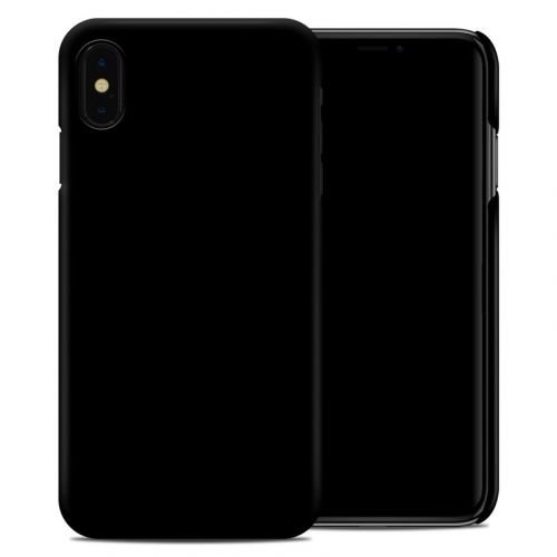 Solid State Black iPhone XS Max Clip Case