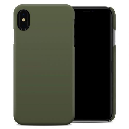 Solid State Olive Drab iPhone XS Max Clip Case