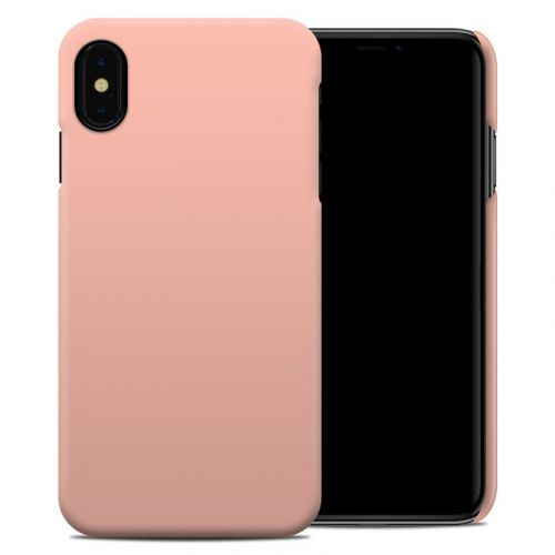 Solid State Peach iPhone XS Max Clip Case