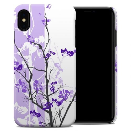 Violet Tranquility iPhone XS Max Clip Case