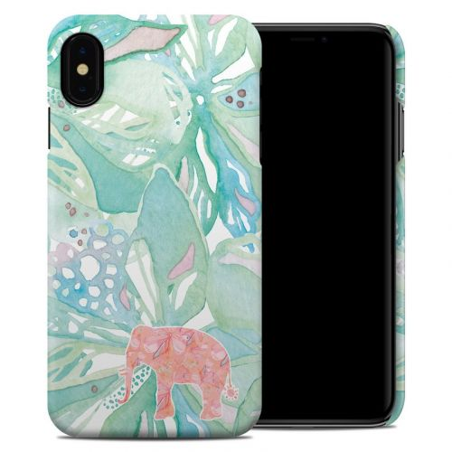 Tropical Elephant iPhone XS Max Clip Case