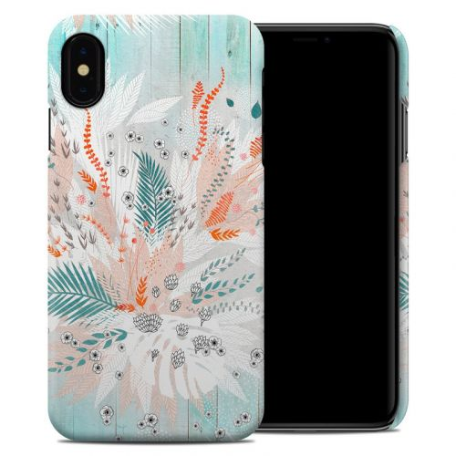 Tropical Fern iPhone XS Max Clip Case