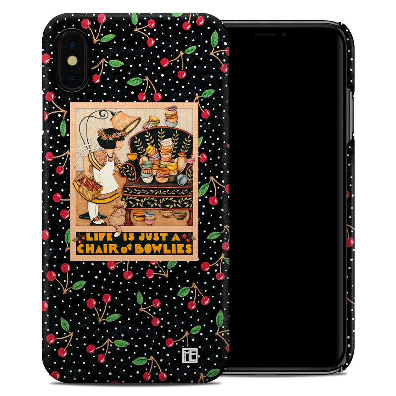 iPhone XS Max Clip Case design of Poster, Illustration, Christmas eve, Christmas, Art with black, red, green, orange, yellow colors
