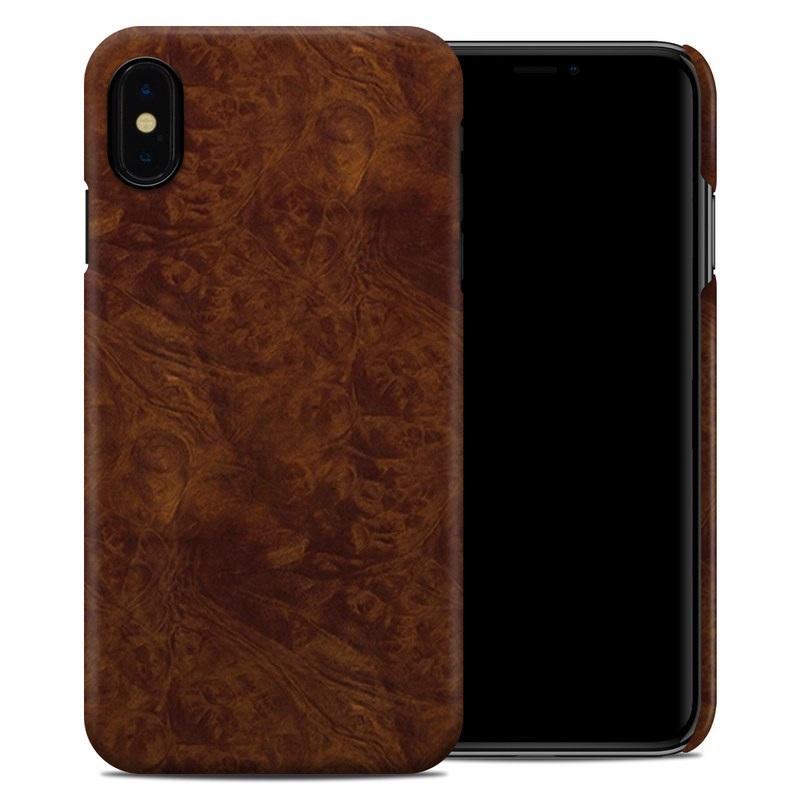 iPhone XS Max Clip Case design of Brown, Wood, Wood flooring, Caramel color, Pattern, Hardwood, Wood stain, Flooring, Floor, Plywood with brown colors