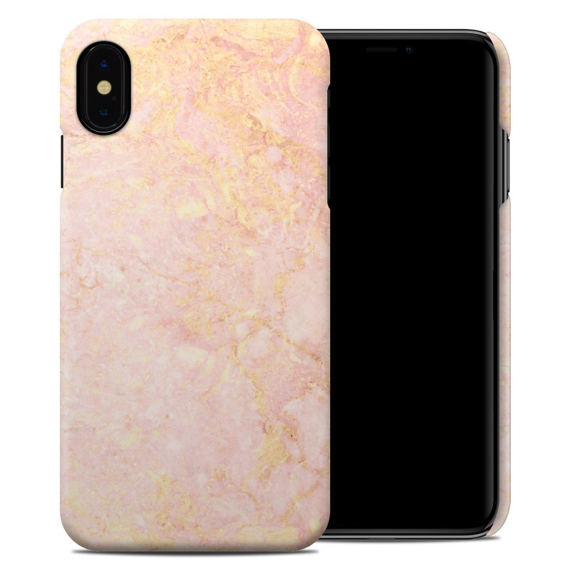 Rose Gold Marble Iphone Xs Max Clip Case Istyles