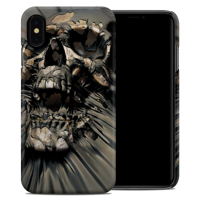 iPhone XS Max Clip Case design of Cg artwork, Fictional character, Illustration, Demon, Fiction, Supervillain, Mythology, Art with black, green, gray, red colors