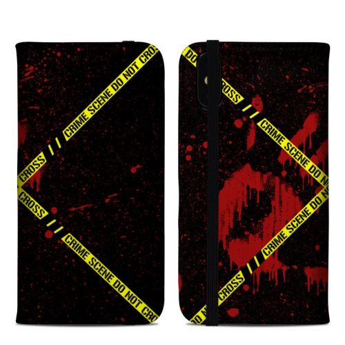 Crime Scene iPhone XS Max Folio Case