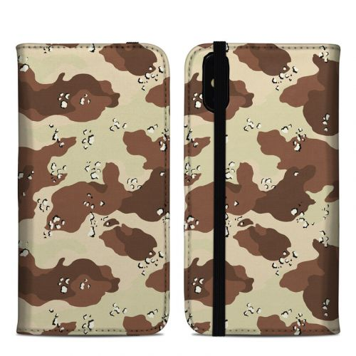 Desert Camo iPhone XS Max Folio Case