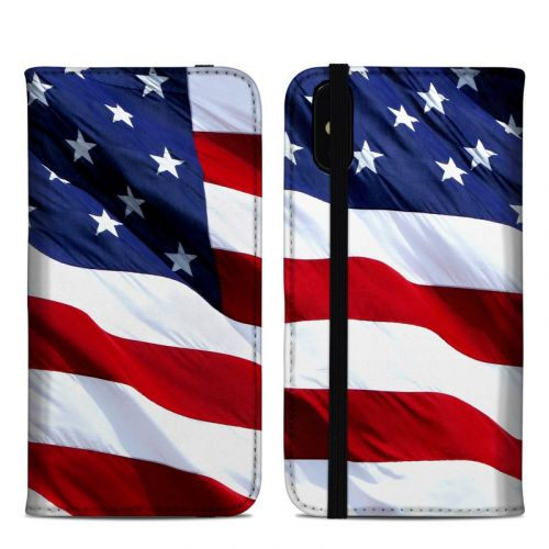 Patriotic iPhone XS Max Folio Case