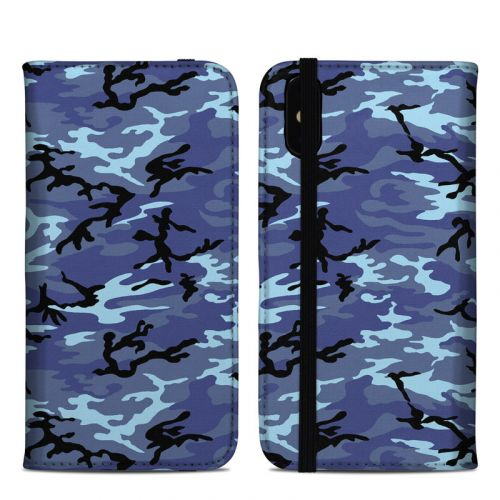 Sky Camo iPhone XS Max Folio Case